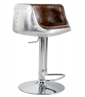 Cyclone aviator bar chair brown