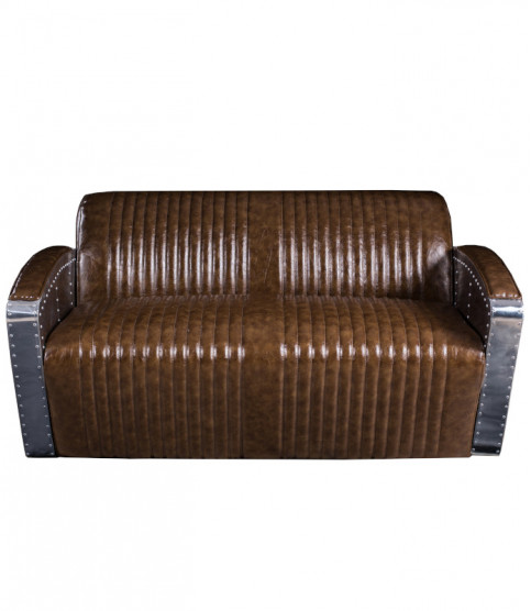 Fortress Aviator club loveseat - 2 Seater Sofas - Meuble Aviateur
