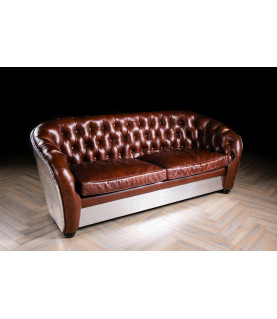 Sevensky Aviator club 3 seater sofa