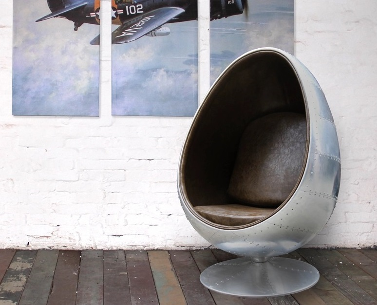 Aviator egg ball chair - Avenger - Aviator Furniture